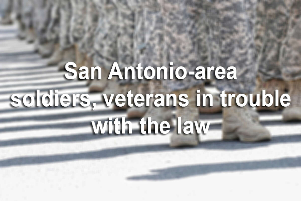 From killings to sexual relationships with high school students, keep clicking to view San Antonio military members in trouble with the law.
