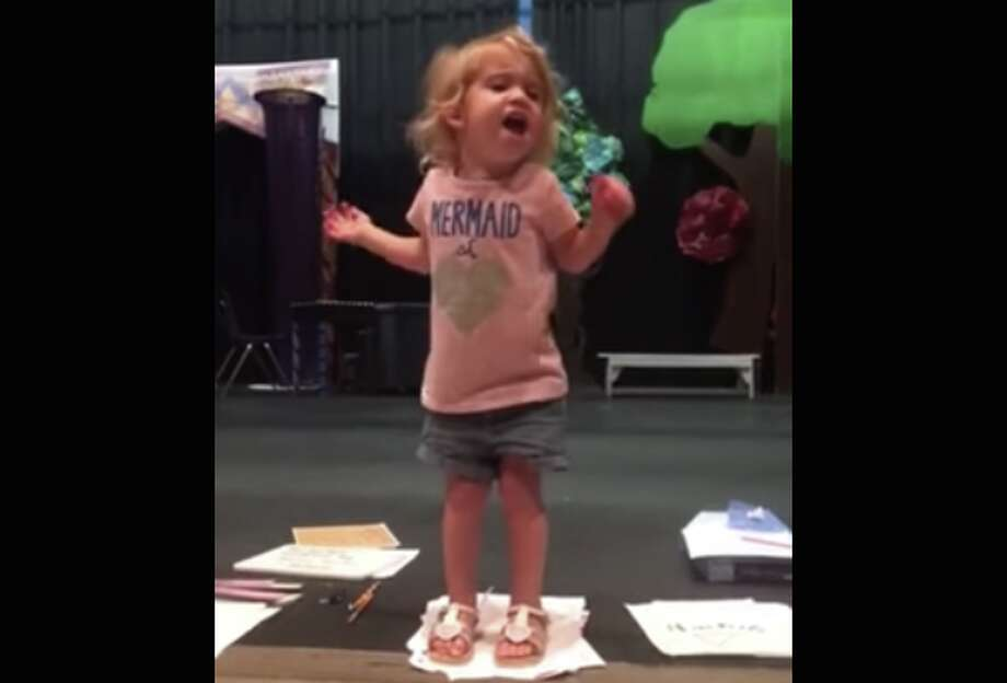 Toddler's adorable alphabet song rendition goes viral