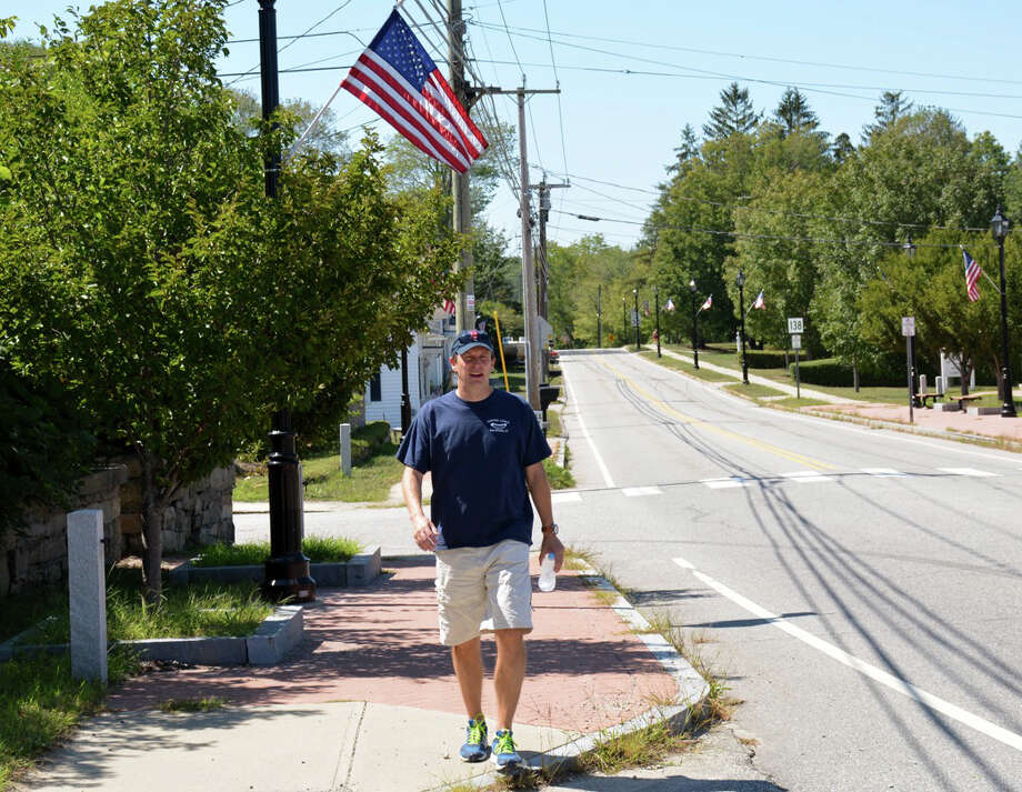 Sen. Chris Murphy is walking across the State of Connecticut this week. Photo: Contributed Photo / Contributed Photo / Connecticut Post Contributed