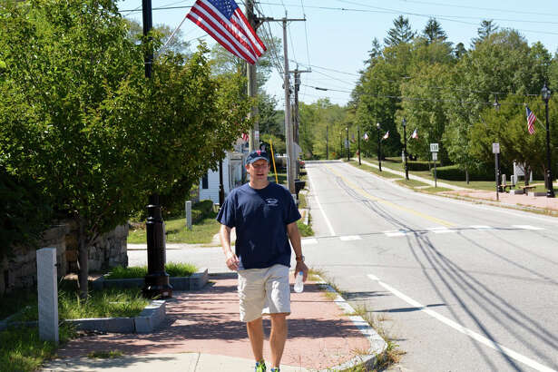Sen. Chris Murphy is walking across the State of Connecticut this week.