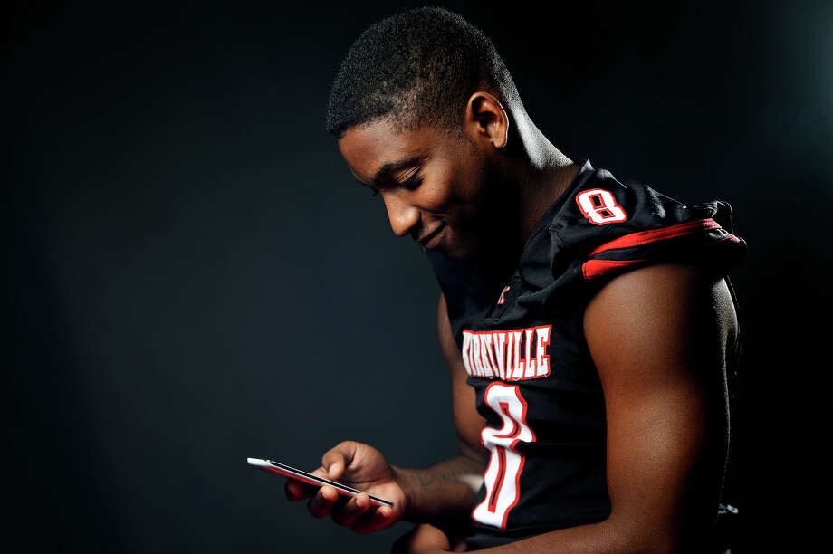 Kirbyville's Ty Dennis is an avid social media user.  Photo taken Tuesday 7/19/16 Ryan Pelham/The Enterprise Photo: Ryan Pelham / ©2016 The Beaumont Enterprise/Ryan Pelham