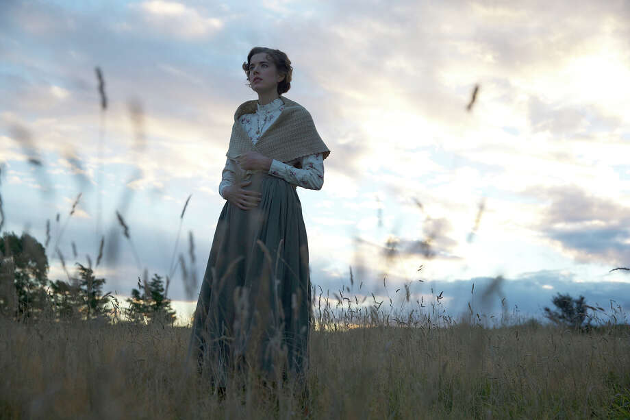 "Agyness Deyn stars as Chris Guthrie in ""Sunset Song,"" which is based on a 1932 novel by Lewis Grassic Gibbon. / www.deanmackenzie.com"