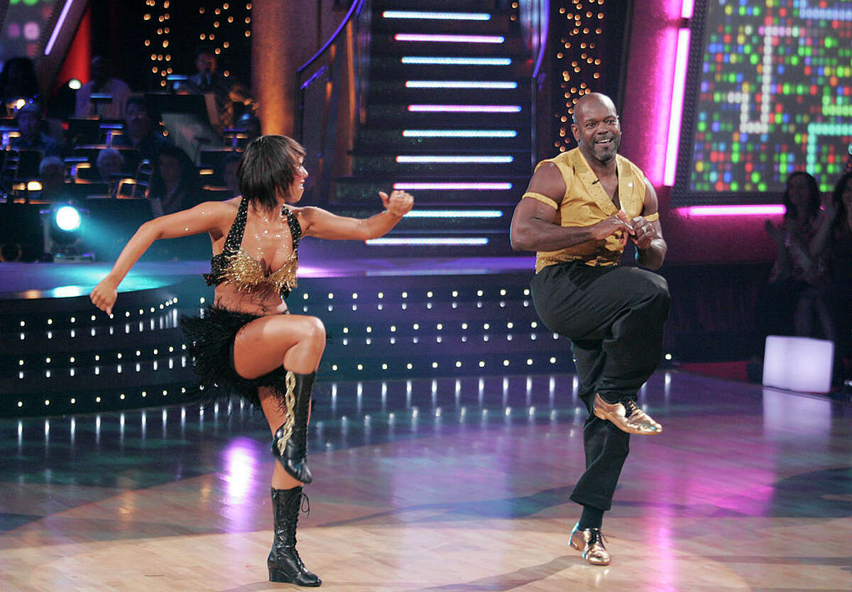 """Back in 2006, Dallas Cowboys legend Emmitt Smith won Season 3 of """"Dancing with the Stars"""" with partner Cheryl Burke. He later competed in""""Dancing with the Stars: All Stars"""" in 2012, but was voted out one week before the finals."""
