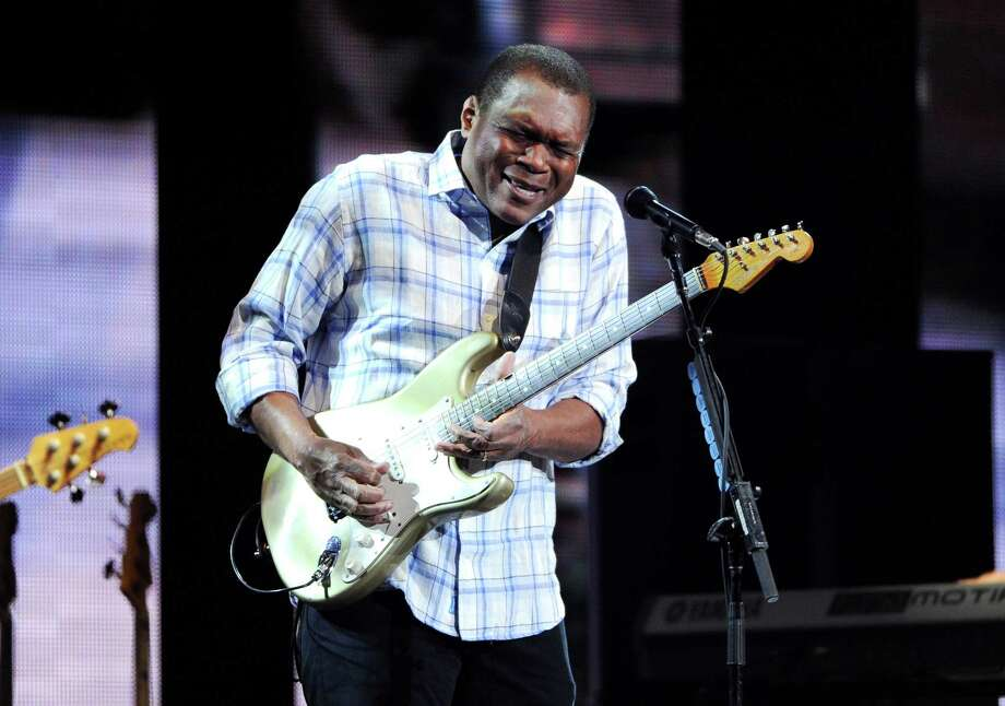 Guitarist Robert Cray performs at Eric Clapton's Crossroads Guitar Festival 2013 at Madison Square Garden on Friday April 12, 2013 in New York. (Photo by Evan Agostini/Invision for Hard Rock International/AP Images) Photo: Evan Agostini / Invision