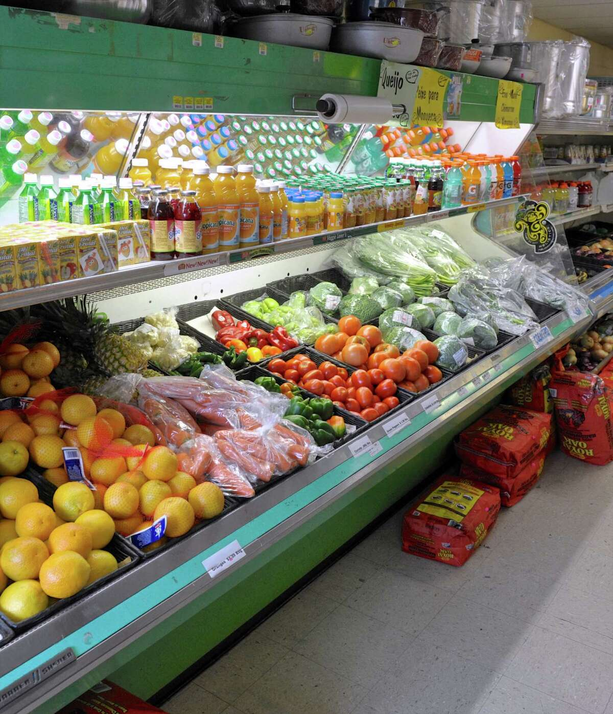 Stores like the Fernandes Food Store, which carry a variety of fresh produce and meat, will not be affected by the new USDA regulation that would require stores that except food stamps to stock fruits and vegetables. Wednesday, August 31, 2016, in Danbury, Conn.