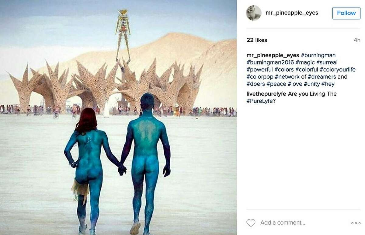 They had nothing to wear for Burning Man.