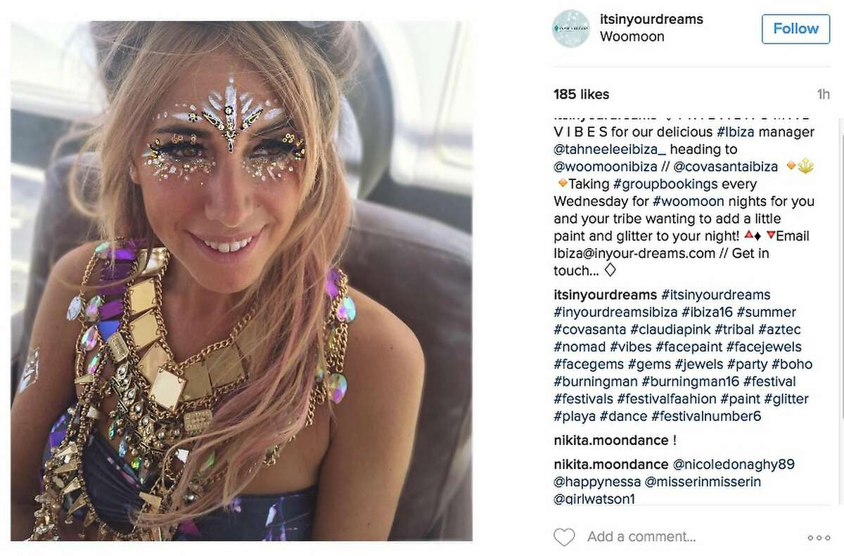 There's no such thing as too much jewelry at Burning Man.