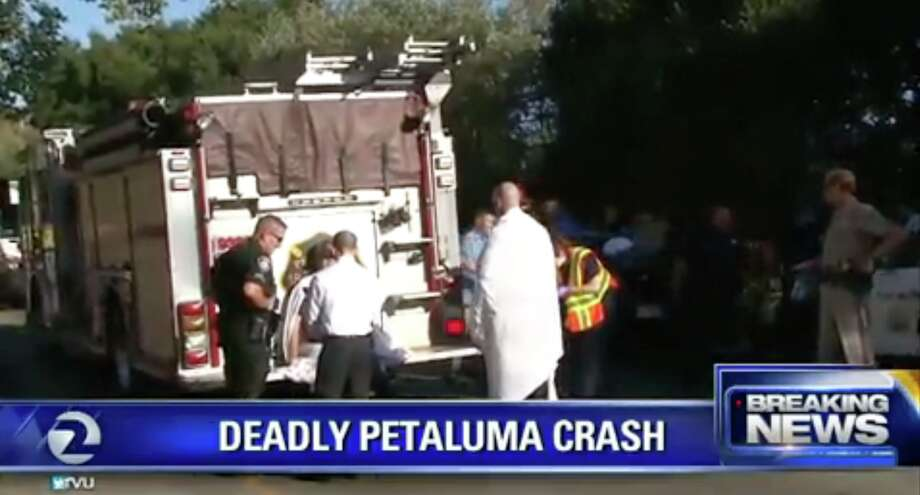 Two young girls were killed in a single-car accident in Petaluma on August 31, 2016.
