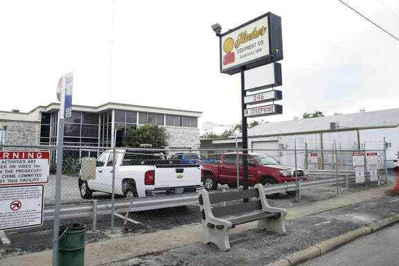 Flasher Equipment, a manufacturer of traffic signs, has eight properties in the Tobin Hill area near the San Antonio River. The area has been getting a lot of attention from developers lately due to the success of the Pearl and the nearby bar strip on St. Mary's Street.