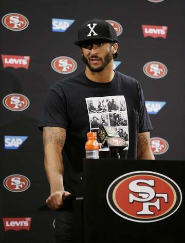 56358d0d892 49ers  Colin Kaepernick explains why he wore  pig  socks ...