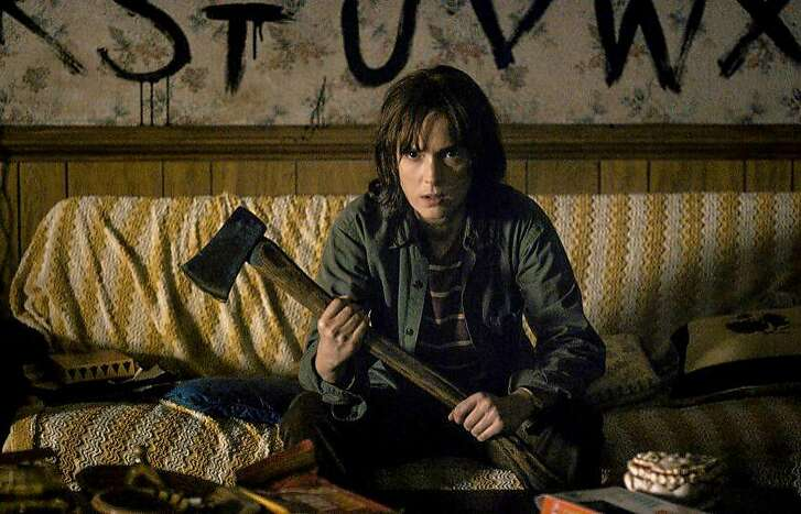 """Winona Ryder in """"Stranger Things"""" on Netflix. MUST CREDIT: Netflix"""