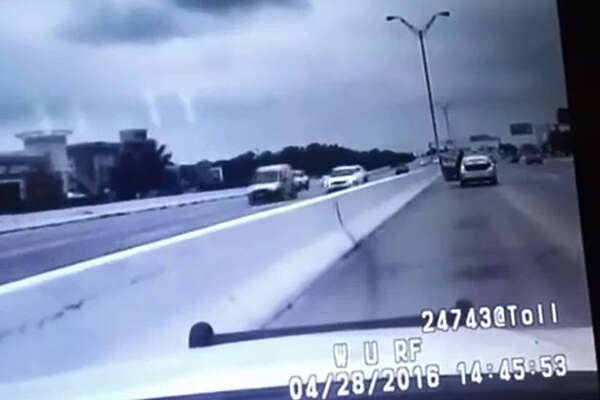 A video released by the Houston chapter of Black Lives Matter shows the dash cam footage of the traffic stop conducted by a Pct. 5 deputy who shot and killed Ashtian Barnes.