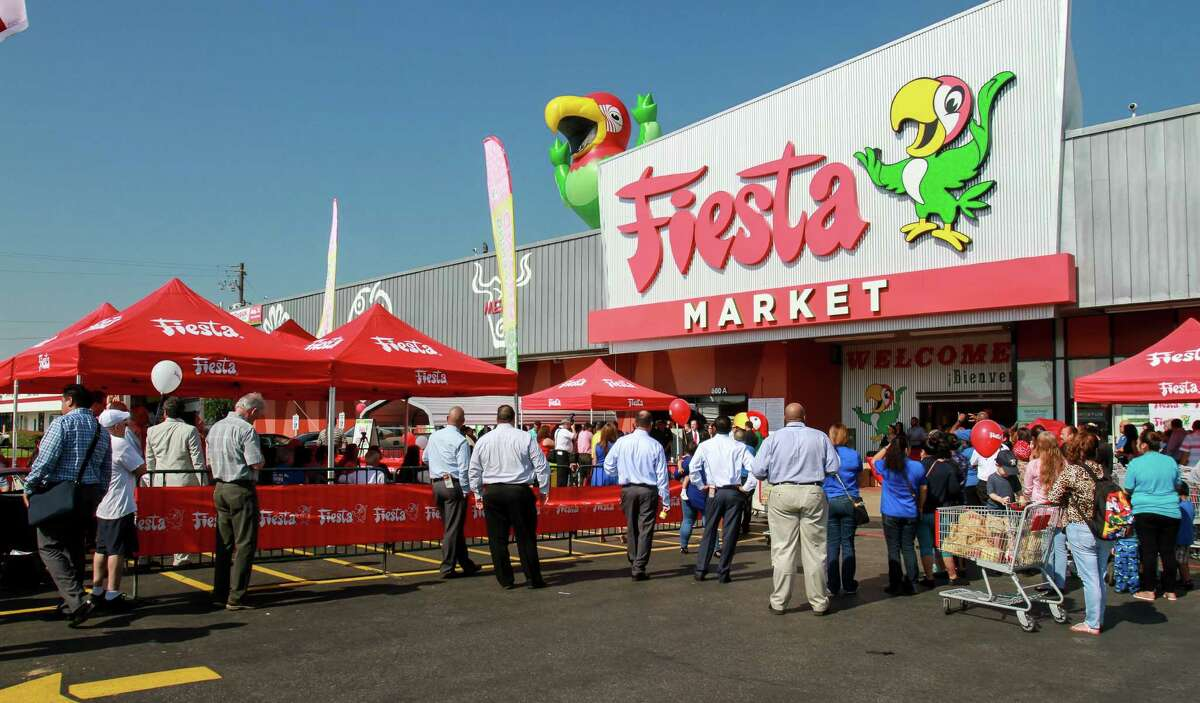 The grand re-opening of the Fiesta on Wayside Drive. Fiesta has invested in the store, redesigning and updating its appearance and layout, the first of several planned upgrades at the chain's stores. (For the Chronicle/Gary Fountain, August 31, 2016)