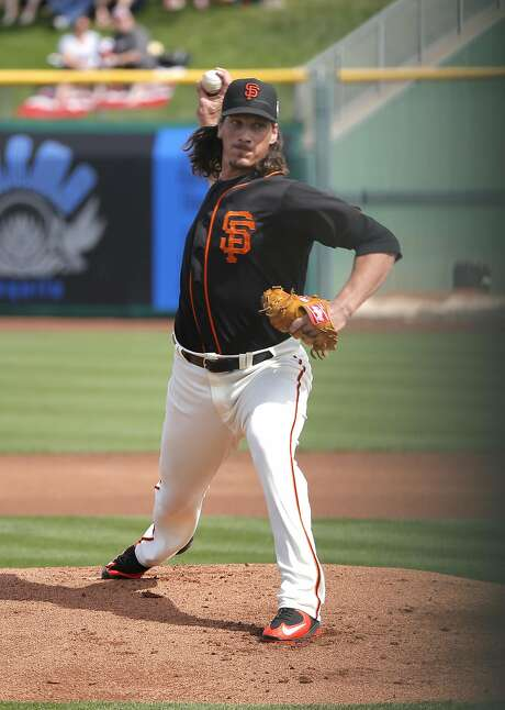 The Giants' Jeff Samardzija began his big-league career with the Cubs in 2008. He stayed with them until 2014. Photo: Michael Macor, The Chronicle