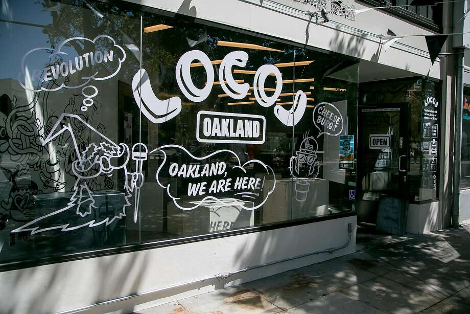 The exterior of Locol's Uptown Oakland, which closed this month. (The West Oakland outpost remains open.) Photo: John Storey, Special To The Chronicle
