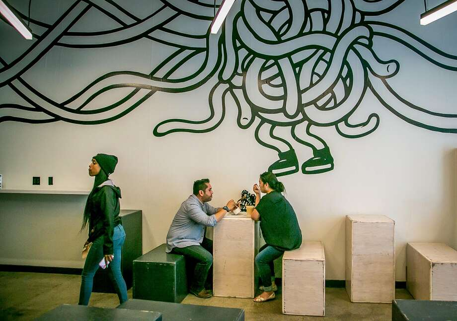The casual interior at Locol in Oakland. Photo: John Storey, Special To The Chronicle