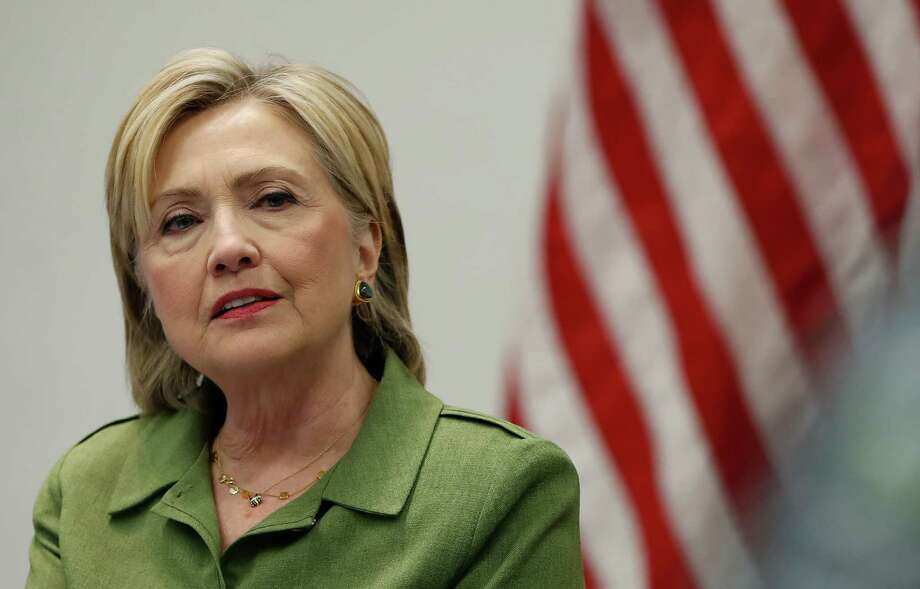 The Clintons have been pursued by foes for decades. Trying to avoid giving ammunition to adversaries is understandable. But rather than come out and say that, Hillary Clinton tried to convince us she did nothing different from what previous secretaries of state had done. Photo: Carolyn Kaster /Associated Press / Copyright 2016 The Associated Press. All rights reserved. This material may not be published, broadcast, rewritten or redistribu