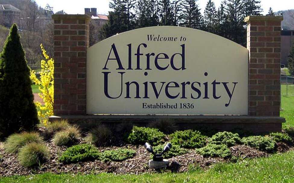 Alfred University Location: Alfred, NY Enrolled: 1,960 Average HS GPA: 3.18 Tuition: $27,824 Test scores for enrolled students: SAT Reading: 490 - 590 SAT Math: 510 - 610 SAT Writing: 460 - 570
