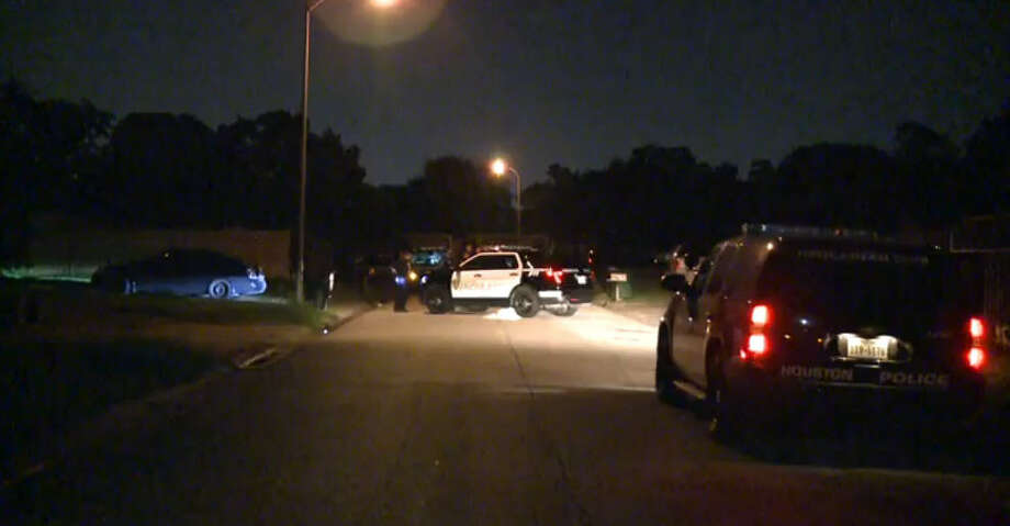 A man was shot and wounded about 5 a.m. Thursday, Sept 1, 2016, during an altercation with his neighbors in the 12100 block of Troulon near Beechnut in southwest Houston. (Metro Video)