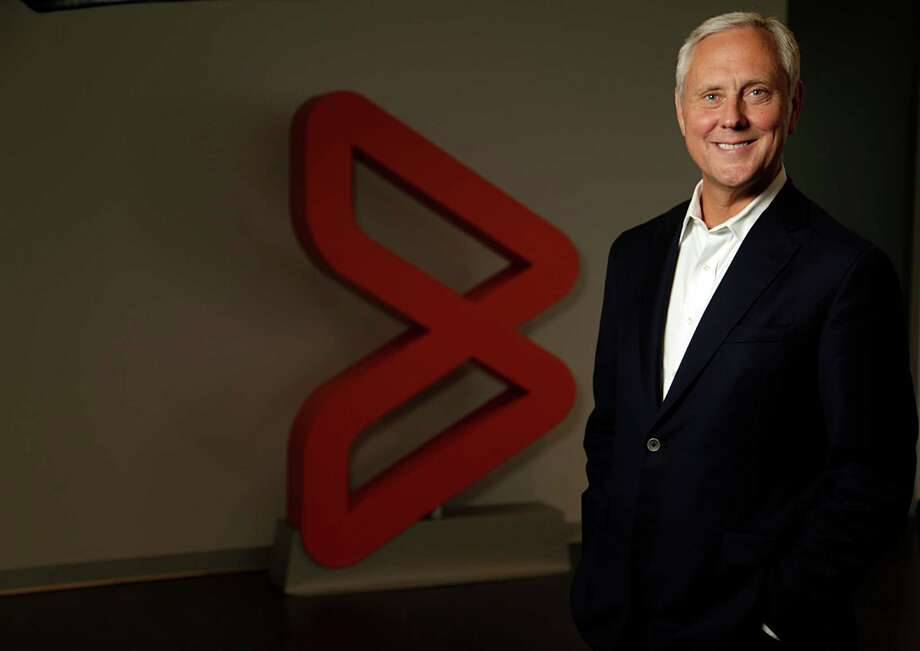 BMC Software CEO Bob Beauchamp poses for a portrait at the company's Houston headquarters Aug. 8, 2016, in Houston. ( James Nielsen / Houston Chronicle ) Photo: James Nielsen, Staff / © 2016  Houston Chronicle