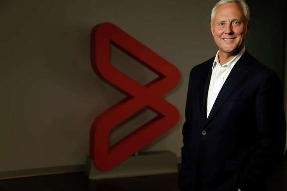BMC Software CEO Bob Beauchamp poses for a portrait at the company's Houston headquarters Aug. 8, 2016, in Houston. ( James Nielsen / Houston Chronicle )