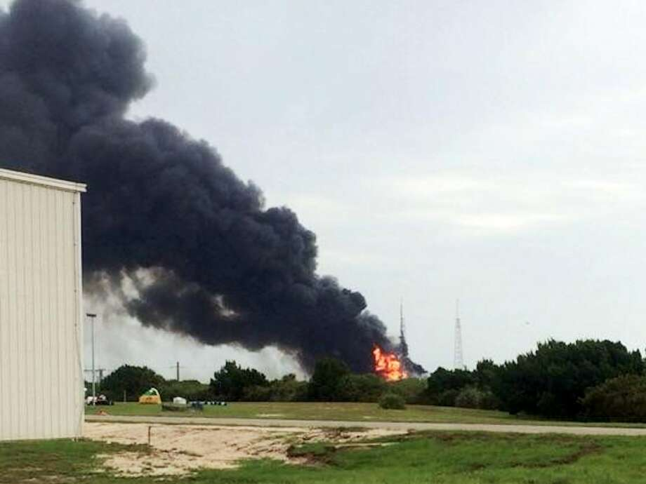 SpaceX was scheduled to do a static test-fire of a 229-foot-tall Falcon 9  rocket with no crew aboard it on Thursday morning, when it exploded  shortly after 9 a.m. EDT on Thursday, Sept. 1, 2016. Photo: Business Insider