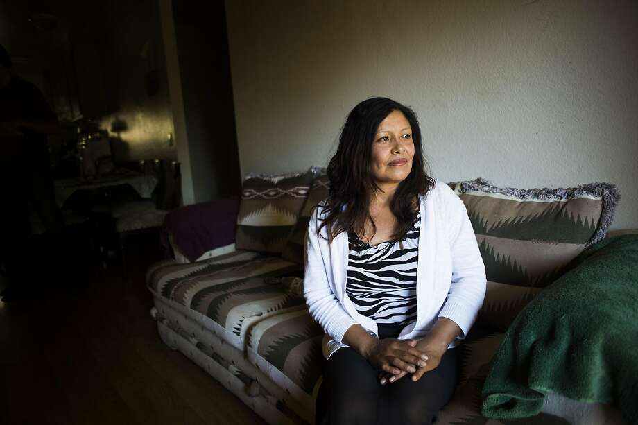 "Angela Espinoza Chavez of Santa Rosa, whose rent was just increased, says she finds farmwork ""liberating"" and prefers it to other jobs she has had. Photo: Brian L. Frank, Special To The Chronicle"