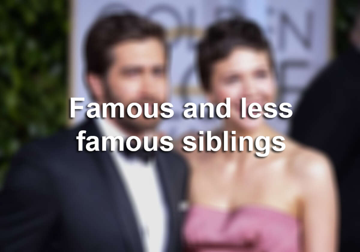 Take a look at these celebrity families.