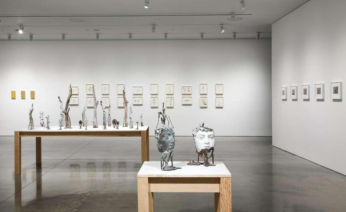 Cecilia Edefalk's exhibition at UC Berkeley Art Museum & Pacific Film Archive runs through October 16; installation view.