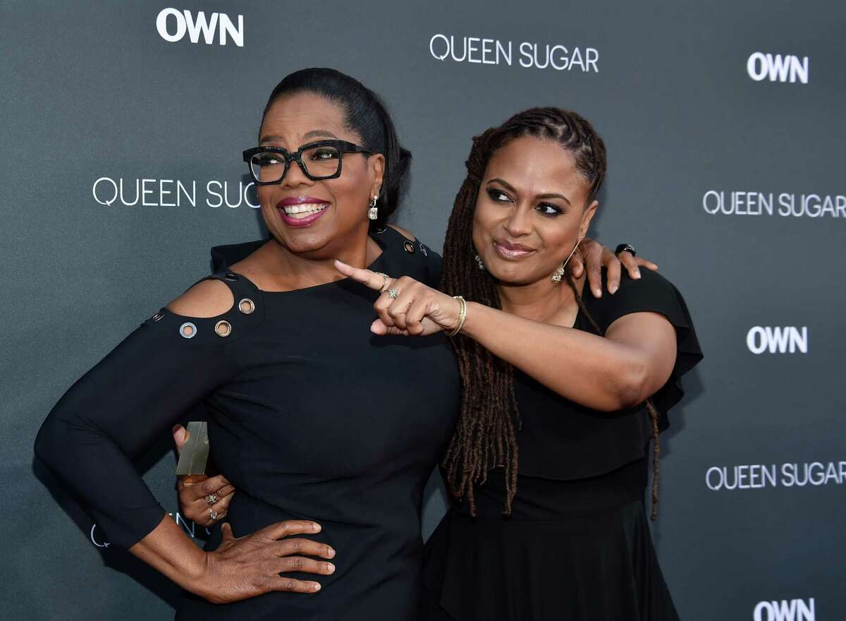 'Queen Sugar's' executive producers Oprah Winfrey and Ava DuVernay dazzle at the Burbank, Calif. premiere of the OWN TV saga.