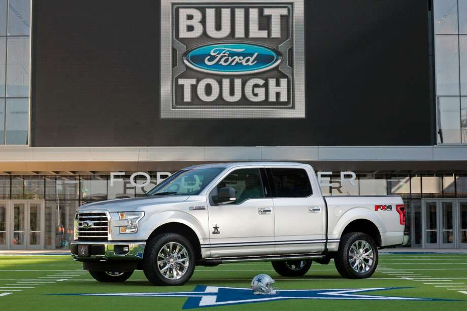 Ford has introduced a Dallas Cowboys themed truck in order to mark the opening of their new corporate headquarters in Frisco, Texas. Aug. 31, 2016. Photo: Ford Motor Company