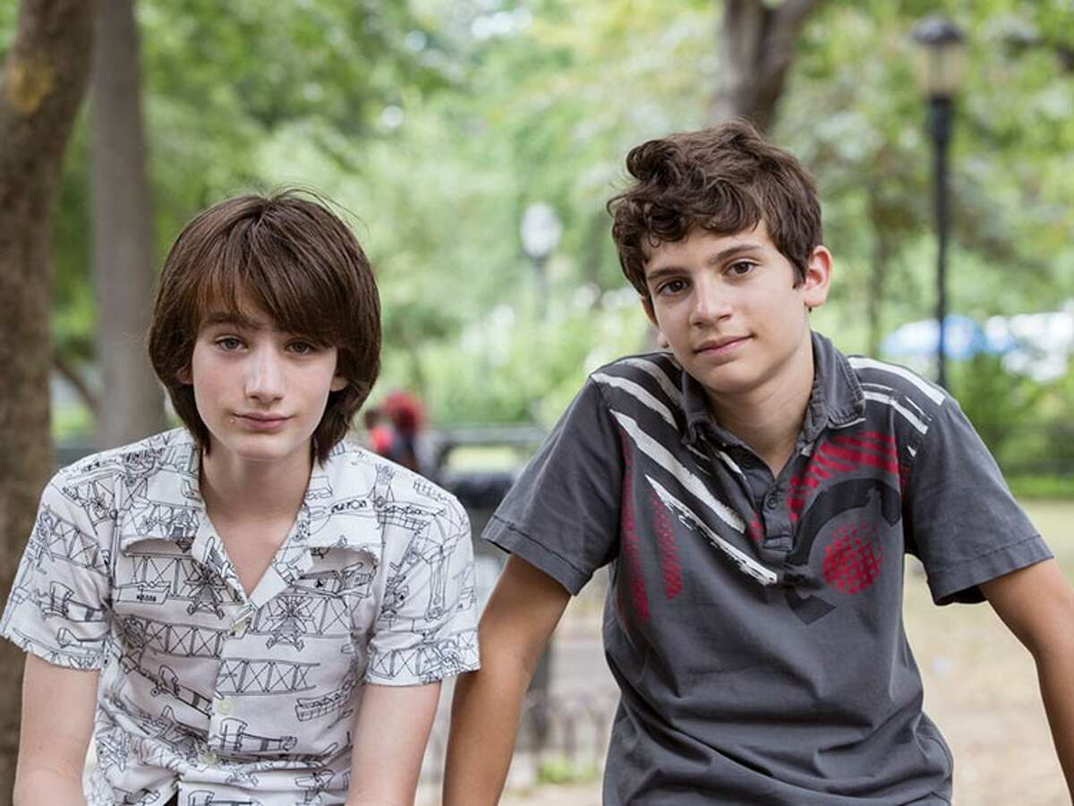 """Magnolia Pictures Michael Barbieri and Theo Taplitz star as unlikely friends with warring families in """"Little Men."""""""