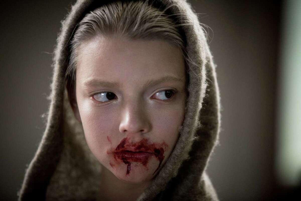 "This image released by Twentieth Century Fox shows Anya Taylor-Joy in a scene from ""Morgan."" (Aidan Monaghan/Twentieth Century Fox via AP) ORG XMIT: NYET721"