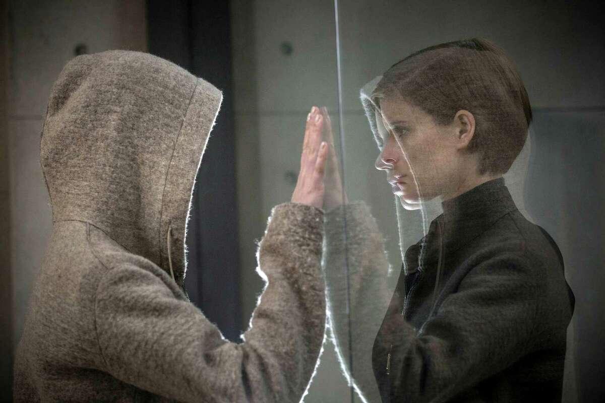 "This image released by Twentieth Century Fox shows Kate Mara, right, in a scene from ""Morgan."" (Aidan Monaghan/Twentieth Century Fox via AP) ORG XMIT: NYET723"