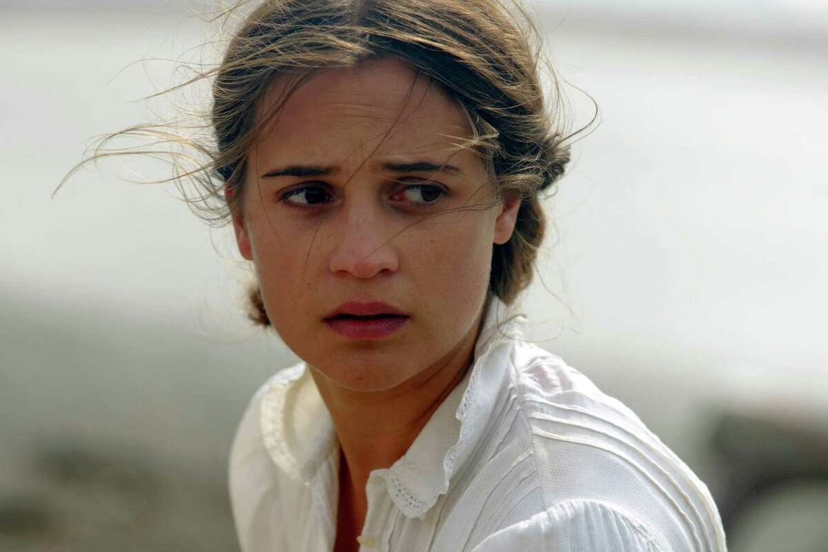 This image released by Dreamworks II shows Alicia Vikander in a scene from,