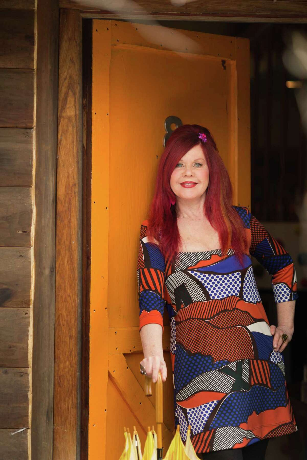 Kate Pierson at Lazy Meadow (Ulster Magazine/Times Herald-Record)