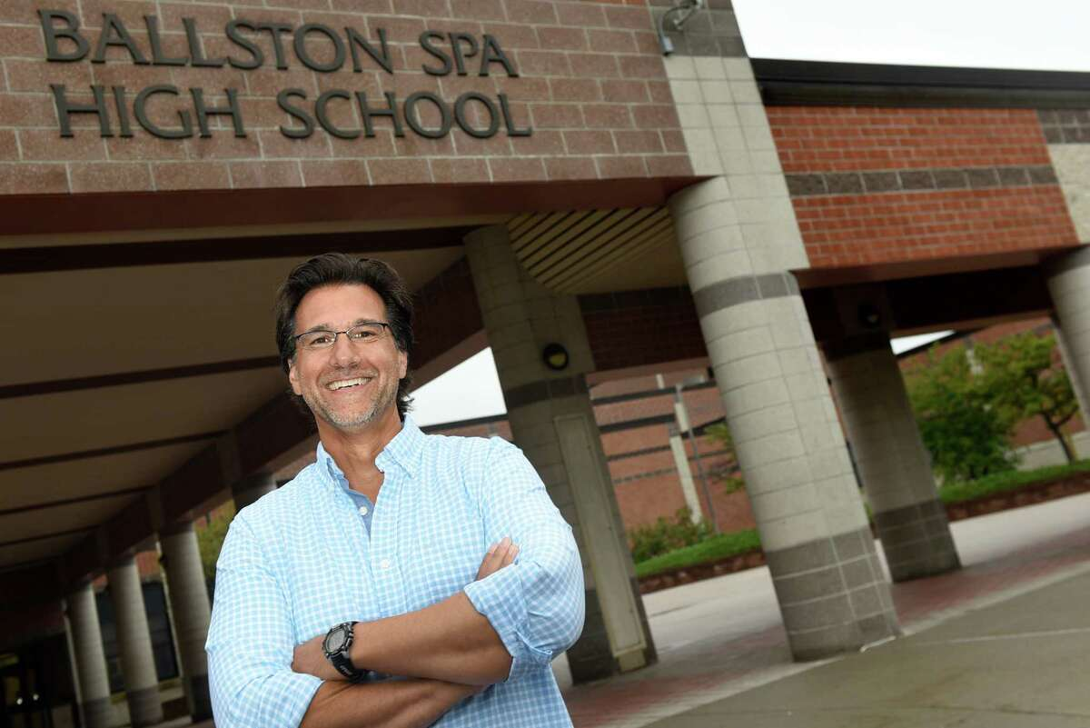 Earth Science teacher Salvatore Faro, whose tenth-grade students call him Dr. Faro, on Thursday, Aug. 25, 2016, at Ballston Spa High in Ballston Spa, N.Y. (Cindy Schultz / Times Union)