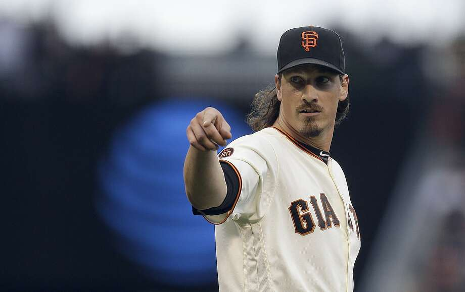 Jeff Samardzija promised not to let manager Bruce Bochy down after getting the Game 2 assignment. Photo: Ben Margot, Associated Press