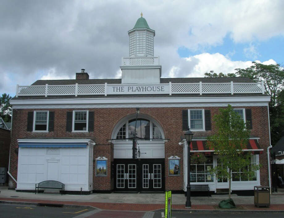The Playhouse in New Canaan is a 1923 movie theater at 89 Elm St. Photo: Hearst Connecticut Media File Photo / New Canaan News
