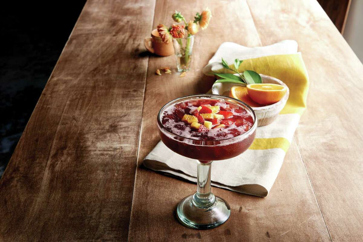 Signature Sangria at Pappasito's Cantina restaurant. Pappasito's is opening a new restaurant in the Woodlands Sept. 13.