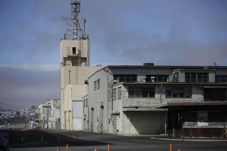 The Hunters Point Naval Shipyard. Photo: Lea Suzuki, The Chronicle