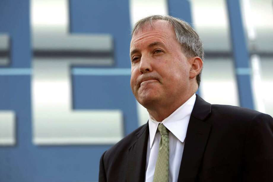 "Texas Attorney General Ken Paxton, seen on Sept. 1, said Friday in a statement: ""I appreciate the judge's thorough review and I am gratified by his dismissal of the entire case."" Photo: William Luther /San Antonio Express-News / © 2016 San Antonio Express-News"