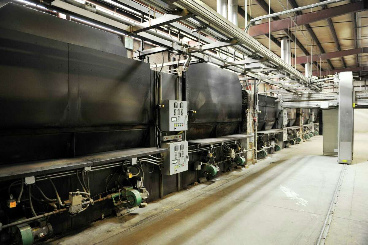 A view of the large bread ovens on the production floor of the now closed Mastroianni Brothers Bakery on Tuesday, July 5, 2016, in Schenectady, N.Y. (Paul Buckowski / Times Union)