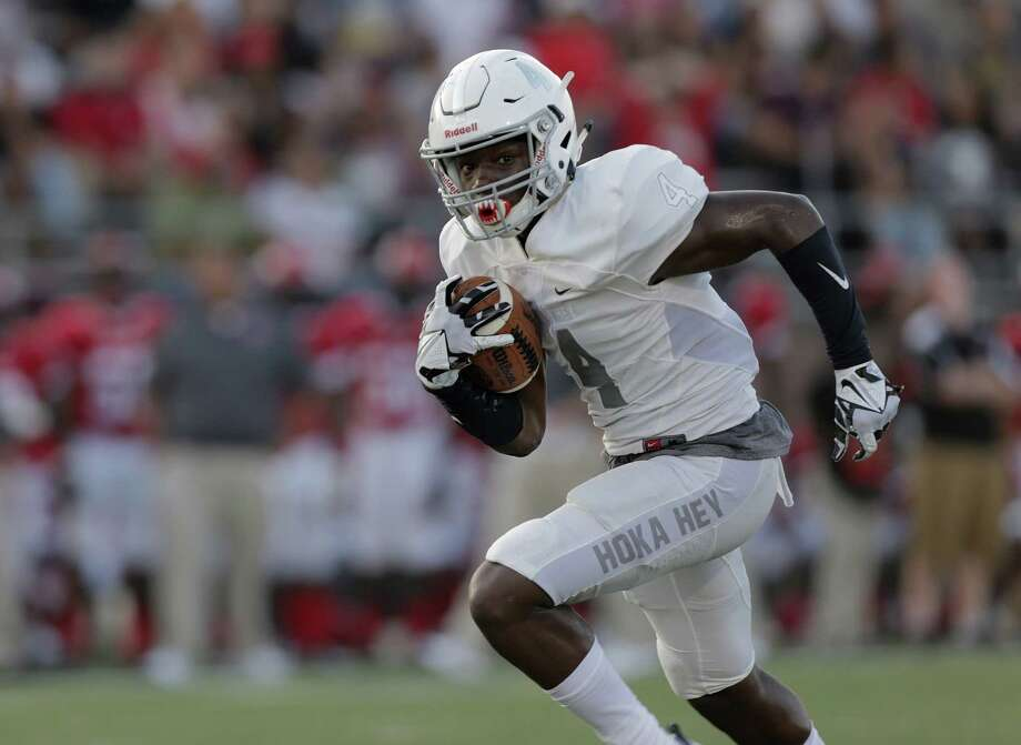Keylon Stokes and Manvel face Marshall in one of the high-profile games of Week 7 around the greater Houston area. Photo: Elizabeth Conley, Houston Chronicle / © 2016 Houston Chronicle