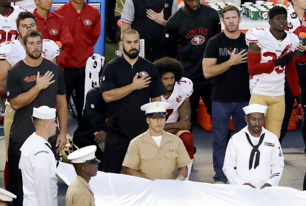 Nike authentic jerseys - Kaepernick jersey sales soar to #1 after anthem controversy - SFGate