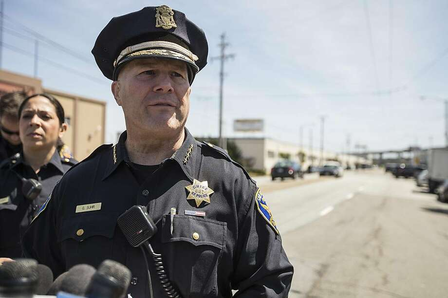 San Francisco is looking for a permanent police chief to replace Greg Suhr, who resigned in May after a sergeant fatally shot a woman in a car in the Bayview. Photo: Jessica Christian, Associated Press