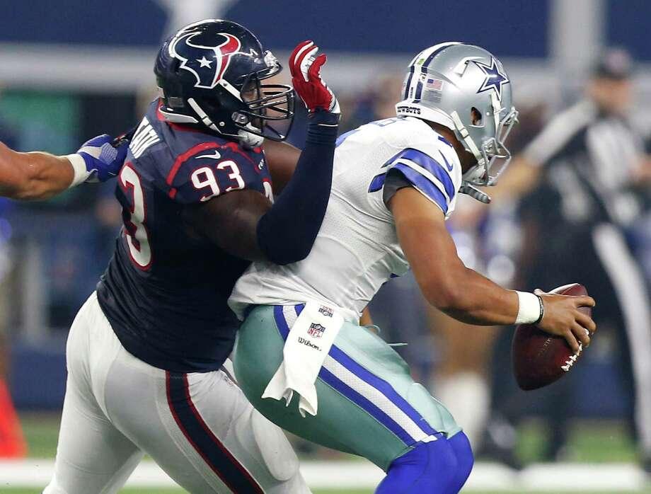 Texans rookie Joel Heath encouraged by 'surreal' NFL debut