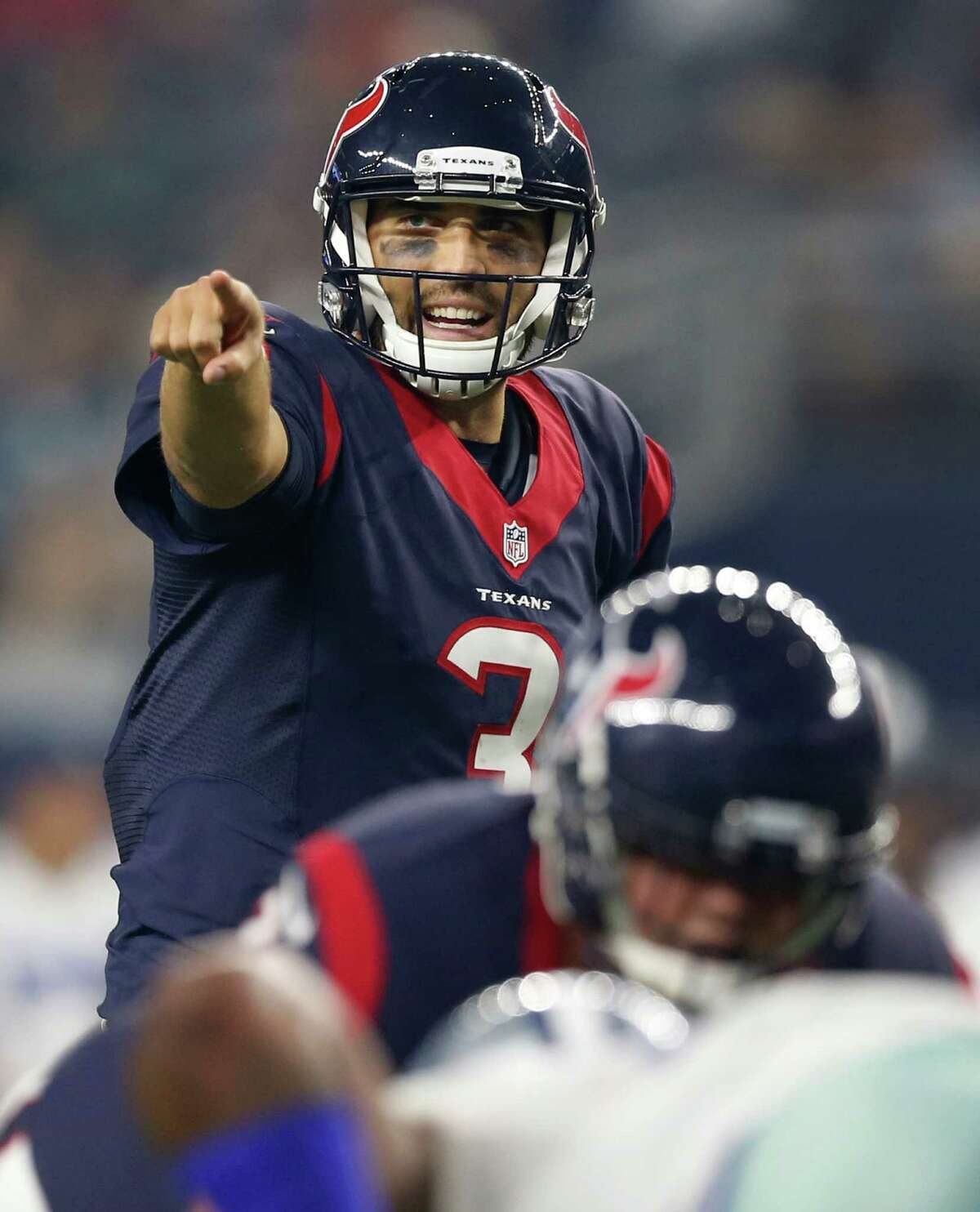 Quarterbacks Tom Savage played a solid game and concluded a terrific season. A touchdown pass to Akeem Hunt and no interceptions. Brandon Weeden threw a 64-yard touchdown pass. If not for his pick-six the grade would have been an A. Grade: B