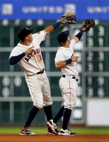 The Astros may swing for the fences, but they may whiff on the playoffs. Photo: Karen Warren, Staff Photographer / 2016 Houston Chronicle