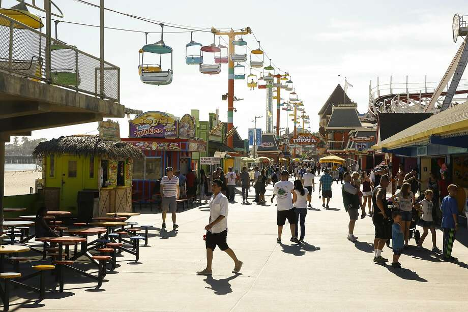 The Santa Cruz Boardwalk in Santa Cruz, California on Thursday September 1, 2016. Santa Cruz Boardwalk has announced a major $12 million renovation to its main entrance, Fright Walk attraction and other rides. Photo: Craig Lee, Special To The Chronicle